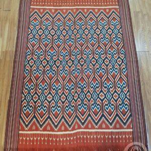 Traditional Ikat Sekomandi - Ulukarua Kasalle (147cm x 210cm)