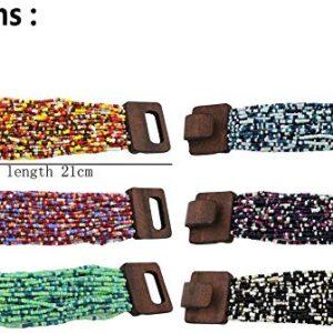 Wooden Buckle Beads Bracelet
