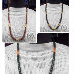 Toraja Ethnic Necklace - Masak Beads + Kalapo