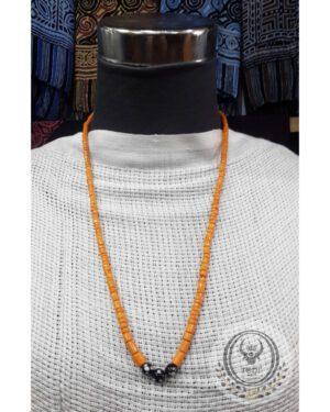 Toraja Ethnic Necklace - Plain Masak Beads