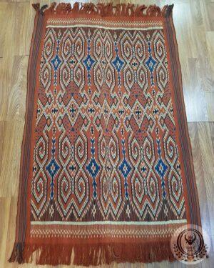 Traditional Ikat Sekomandi - Pori Kokkok (128cm x 220cm)