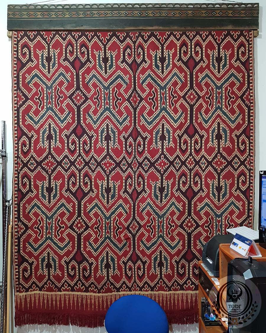 Traditional Ikat Sekomandi - Tobo Alang (153cmx200cm)