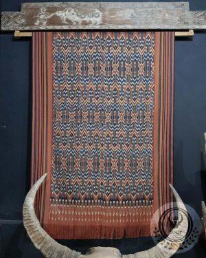 Traditional Ikat Sekomandi - Ulukarua Kasalle (104cmx170m)