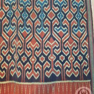 Traditional Ikat Sekomandi - Ulukarua Kasalle (127cm x 225cm)