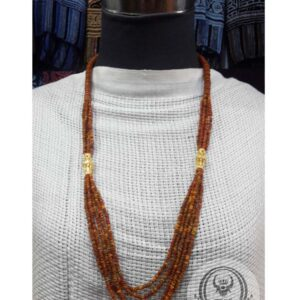 Toraja Ethnic Necklace - Plain Masak Beads Five (5) Layers