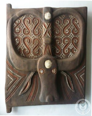 Toraja Buffalo House Door (Reproduction) 45cm x 60cm