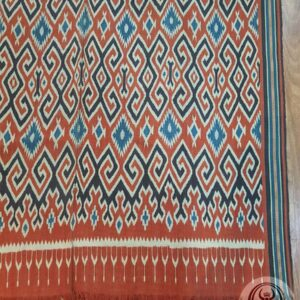 Tenun Tradisional Ikat Sekomandi – Lelen Sepu (127cm x 219cm)
