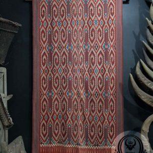 Tenun Tradisional Ikat Sekomandi - Pori Kokkok (100cmx190cm)