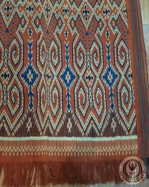 Traditional Ikat Sekomandi – Pori Kokkok (128cm x 220cm)
